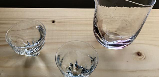 『酒器・小皿豆皿 展』最後の土曜日です。