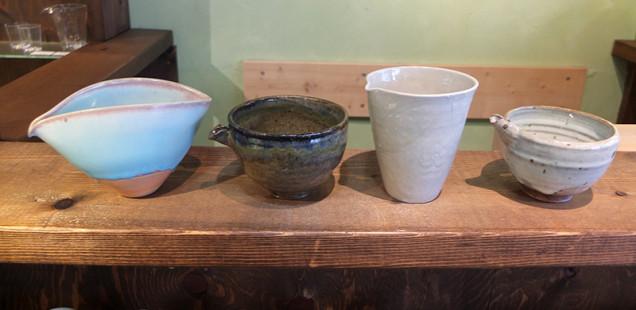 『酒器・小皿豆皿 展』盛り上がっています。