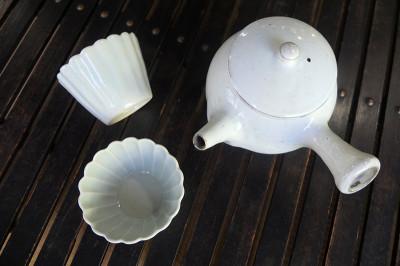 あったかいお茶を頂きましょう♪